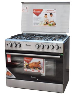 Ramtons 5 GAS 60X90 Giant Cooker + Electric Oven