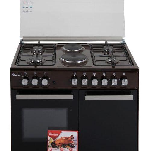 Ramtons 4G+2E 90X60 Brown Cooker – RF/490