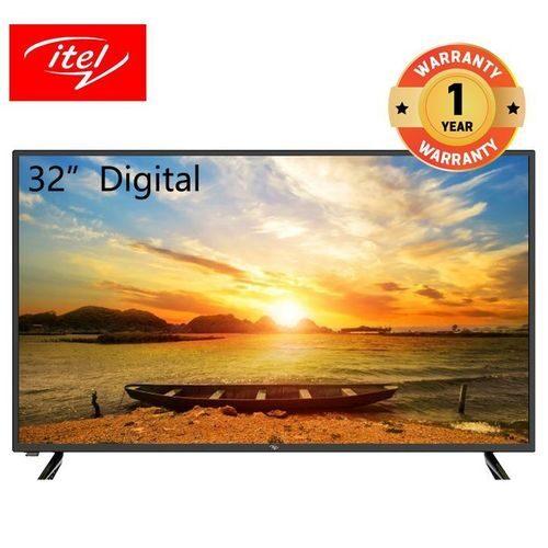 Itel 32 Inch AC/DC HD Digital LED TV with I-cast S32101AE