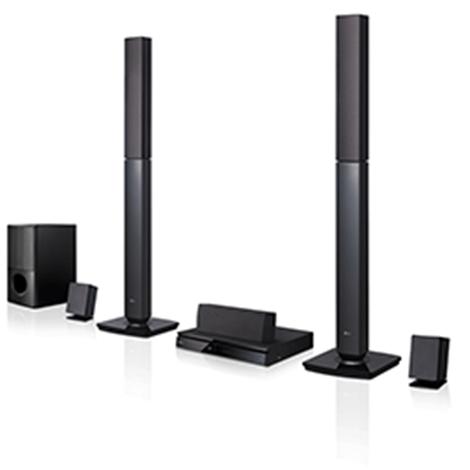 LG 1000W 5.1Ch DVD Home Theatre System - LHD647